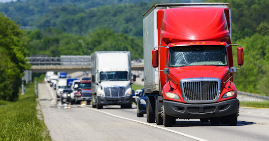 Stay Aware While Traveling Near Tractor Trailer Trucks