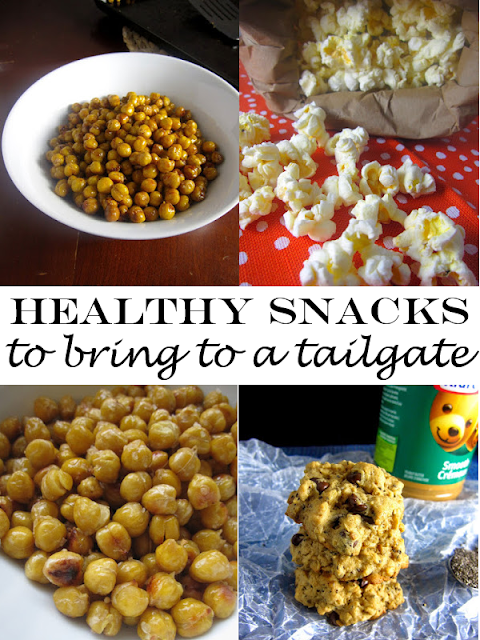 5 Healthy Snacks to Bring to a Tailgate