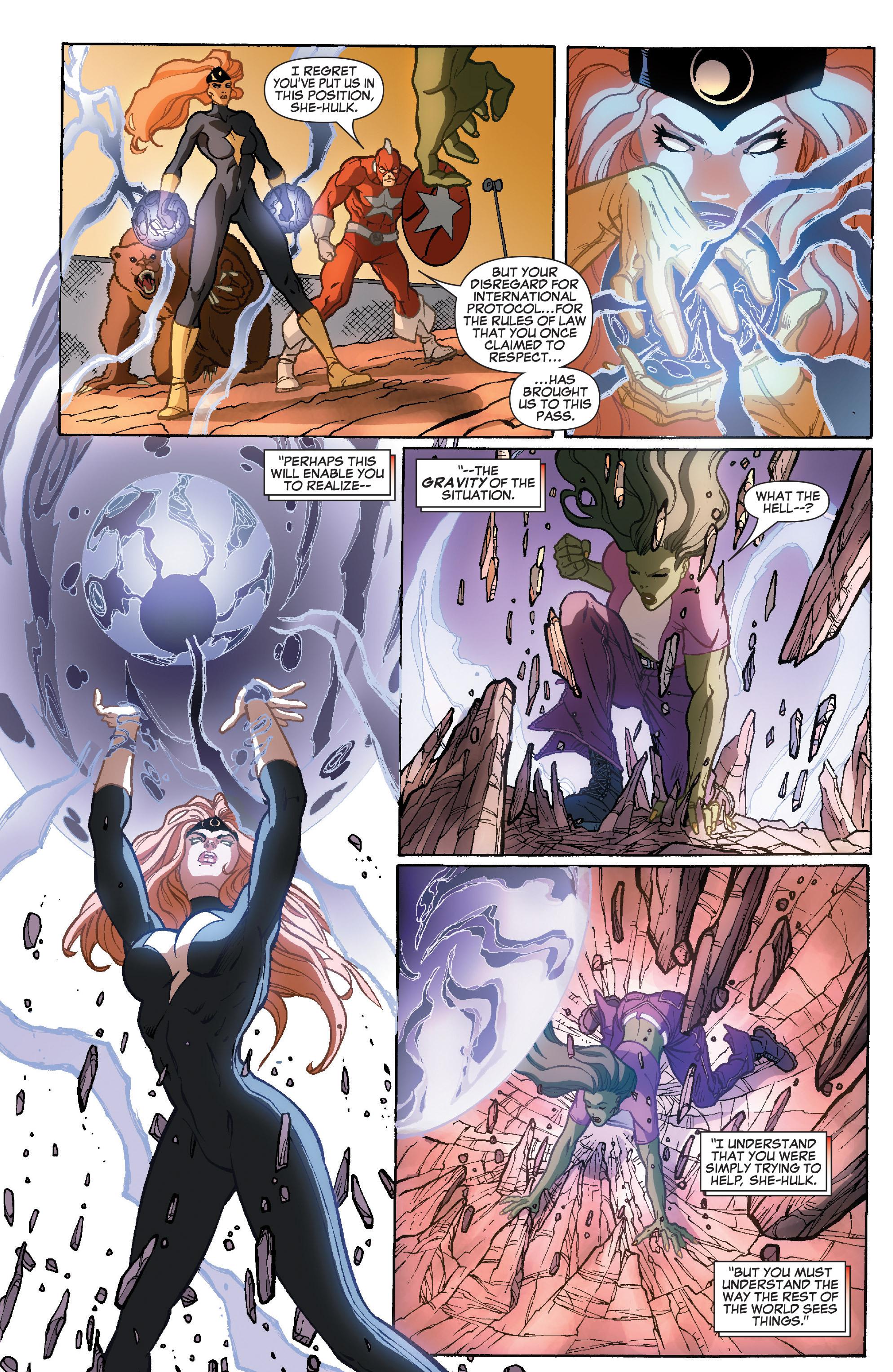 Read online She-Hulk (2005) comic -  Issue #35 - 13