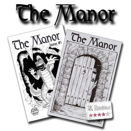 Frugal GM Review: The Manor, Issues #1 & #5