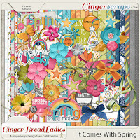 It comes with spring by GingerBread Ladies
