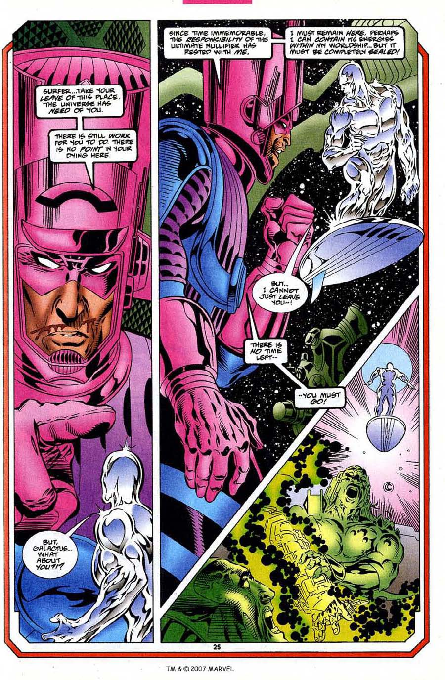 Silver Surfer (1987) Issue #109 #117 - English 27