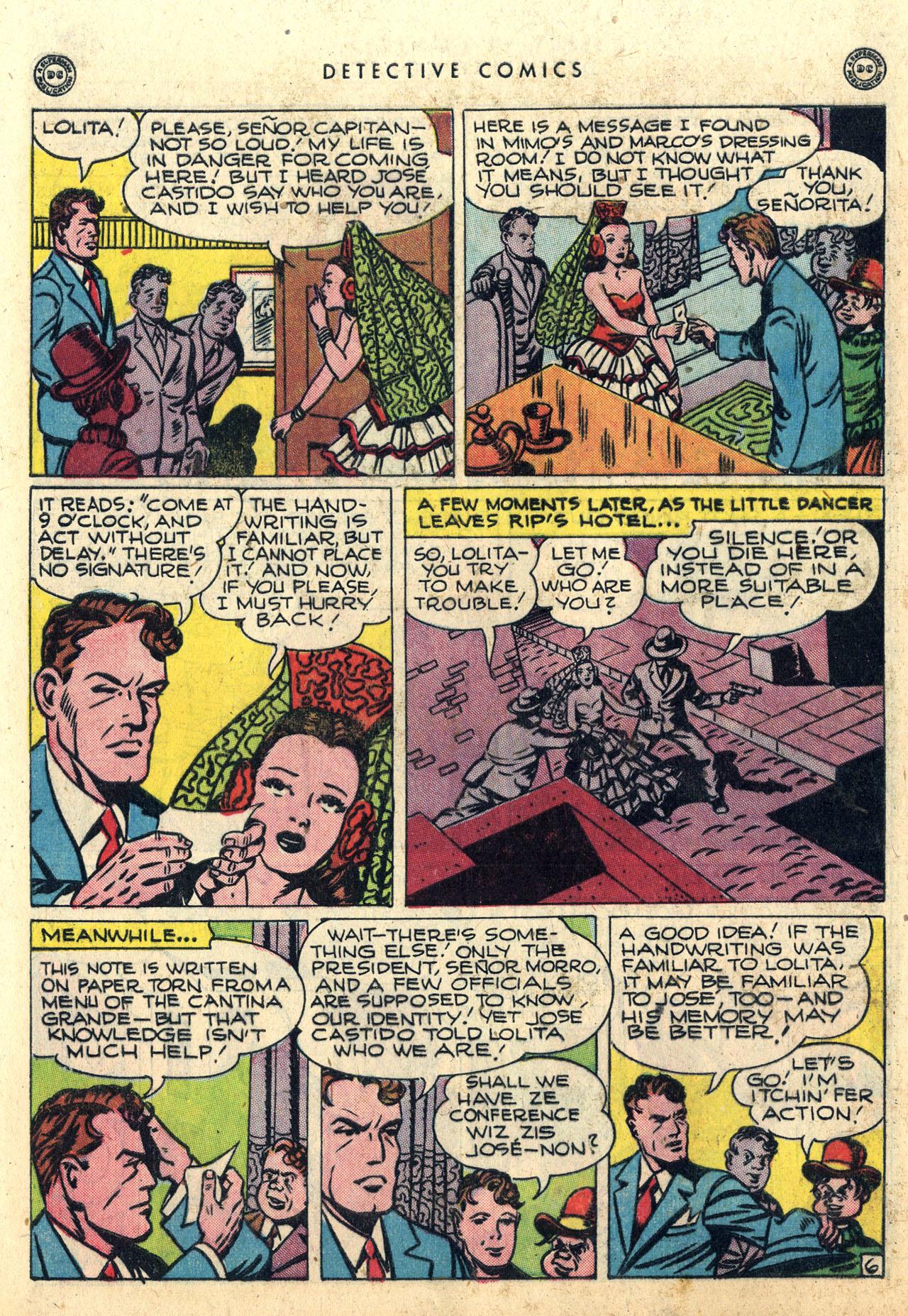 Read online Detective Comics (1937) comic -  Issue #112 - 42