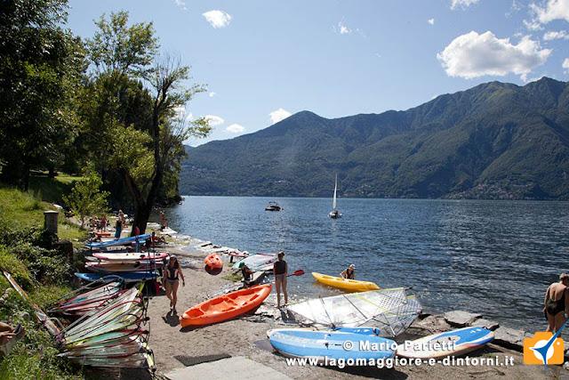 Acque balneabili sul lago Maggiore