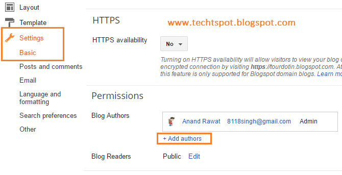How To Invite Multiple Authors On Blogger