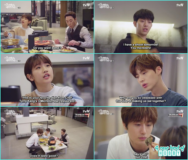 ha won bait kang cousin their favourite dishes - Cinderella and Four Knights - Episode 4 Review