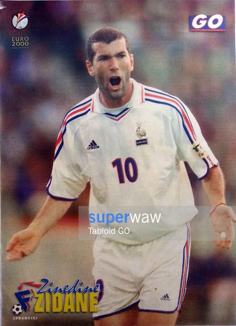 Zidane France EURO 2000