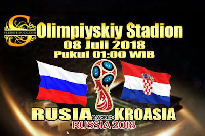 JUDI BOLA DAN CASINO ONLINE - PREDIKSI PERTANDINGAN PIALA DUNIA 2018 RUSIA VS KROASIA 08 JULI 2018