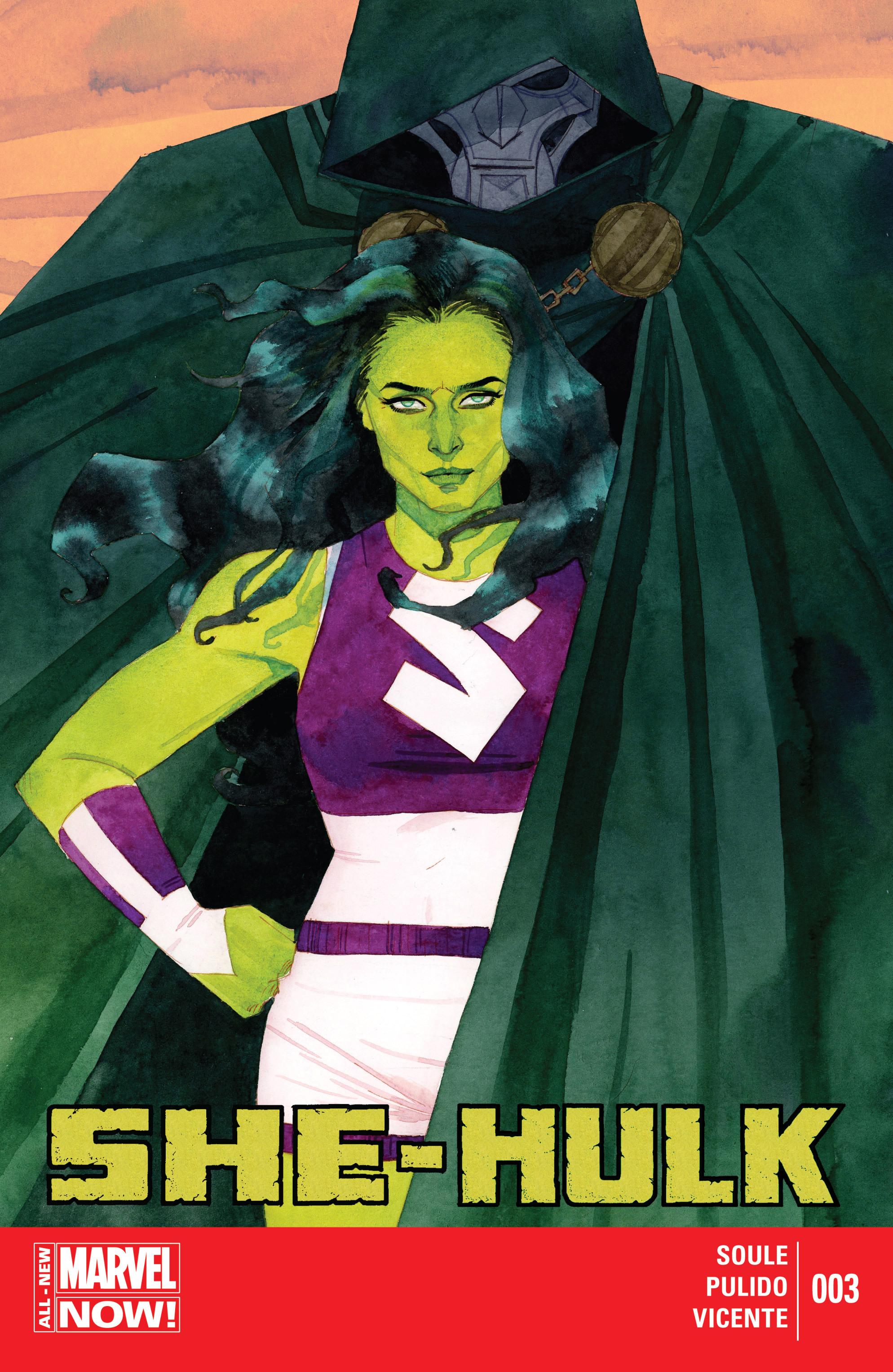 Read online She-Hulk (2014) comic -  Issue #3 - 1