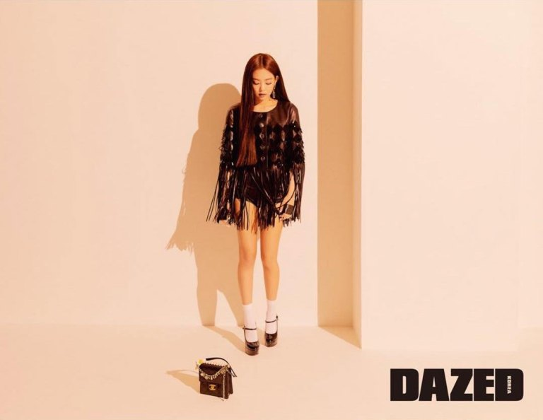 jennie kim, black pink, kpop, dazed korea, chanek