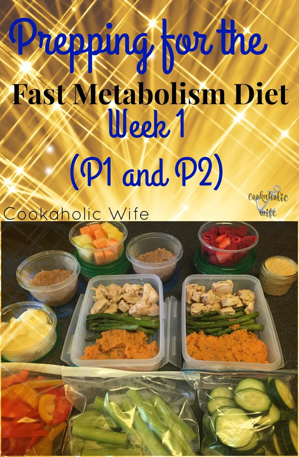 fast metabolism diet full week of recipes
