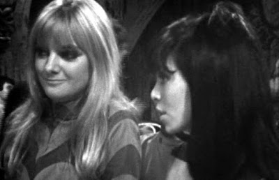 Polly and Kitty in the Inferno Club in Doctor Who: The War Machines