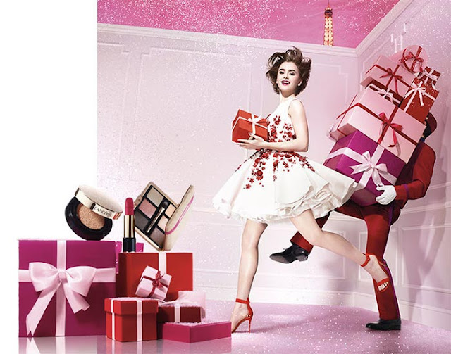 Lancome Paris En Rose Makeup Collection Holiday 2016