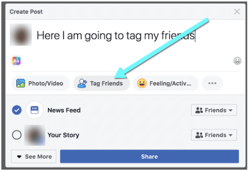 How To Tag Someone Facebook