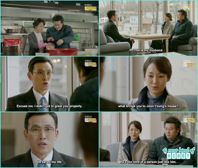 young ok met with prosecutor choi at the coffe shop - Uncontrollably Fond - Episode 13 Review