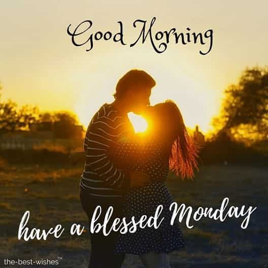 good morning monday kiss images for him