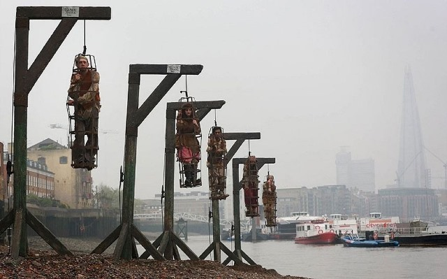 The Execution Dock on River Thames