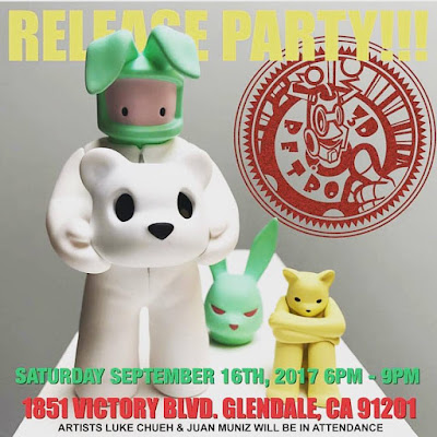 3DRetro Exclusive The Prisoner Percocet Edition Resin Figure by Luke Chueh x Munky King