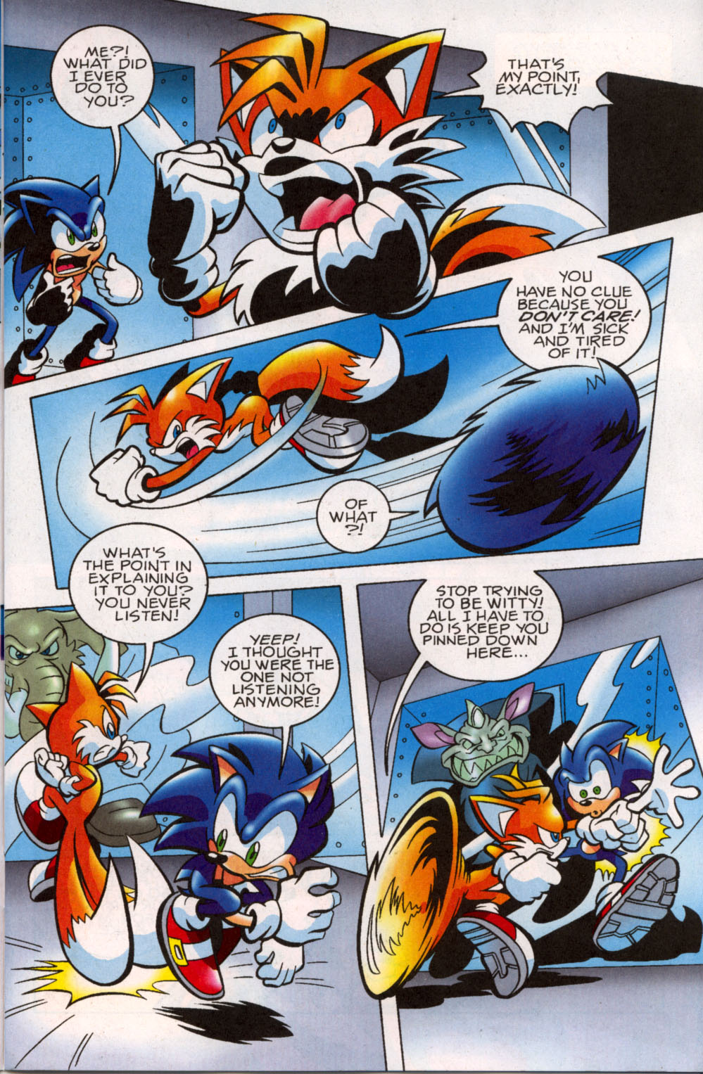 Read online Sonic The Hedgehog comic -  Issue #179 - 4