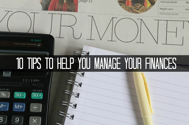 Finance Fridays – 10 tips to help you manage your finances