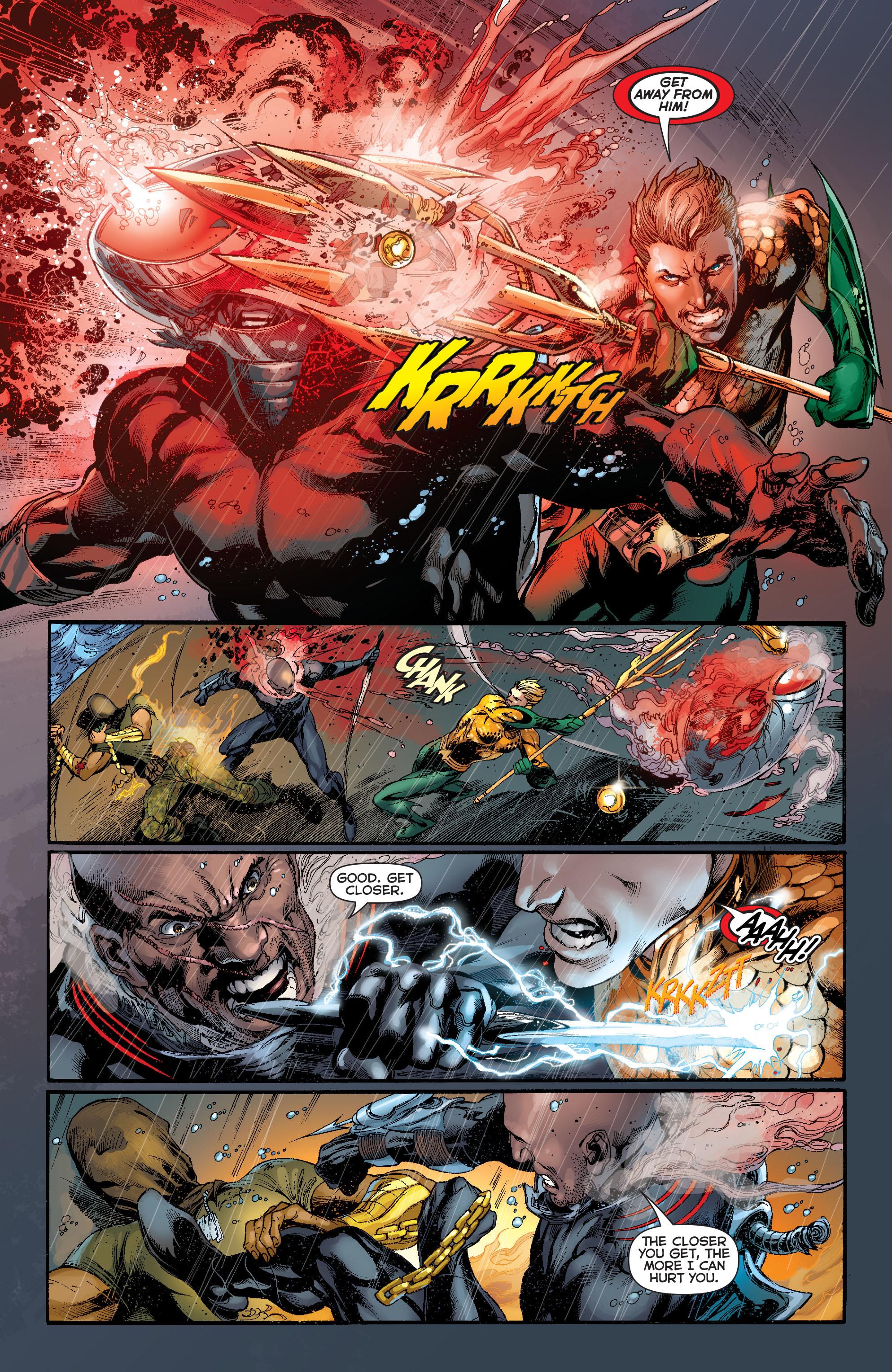 Read online Aquaman (2011) comic -  Issue #13 - 15