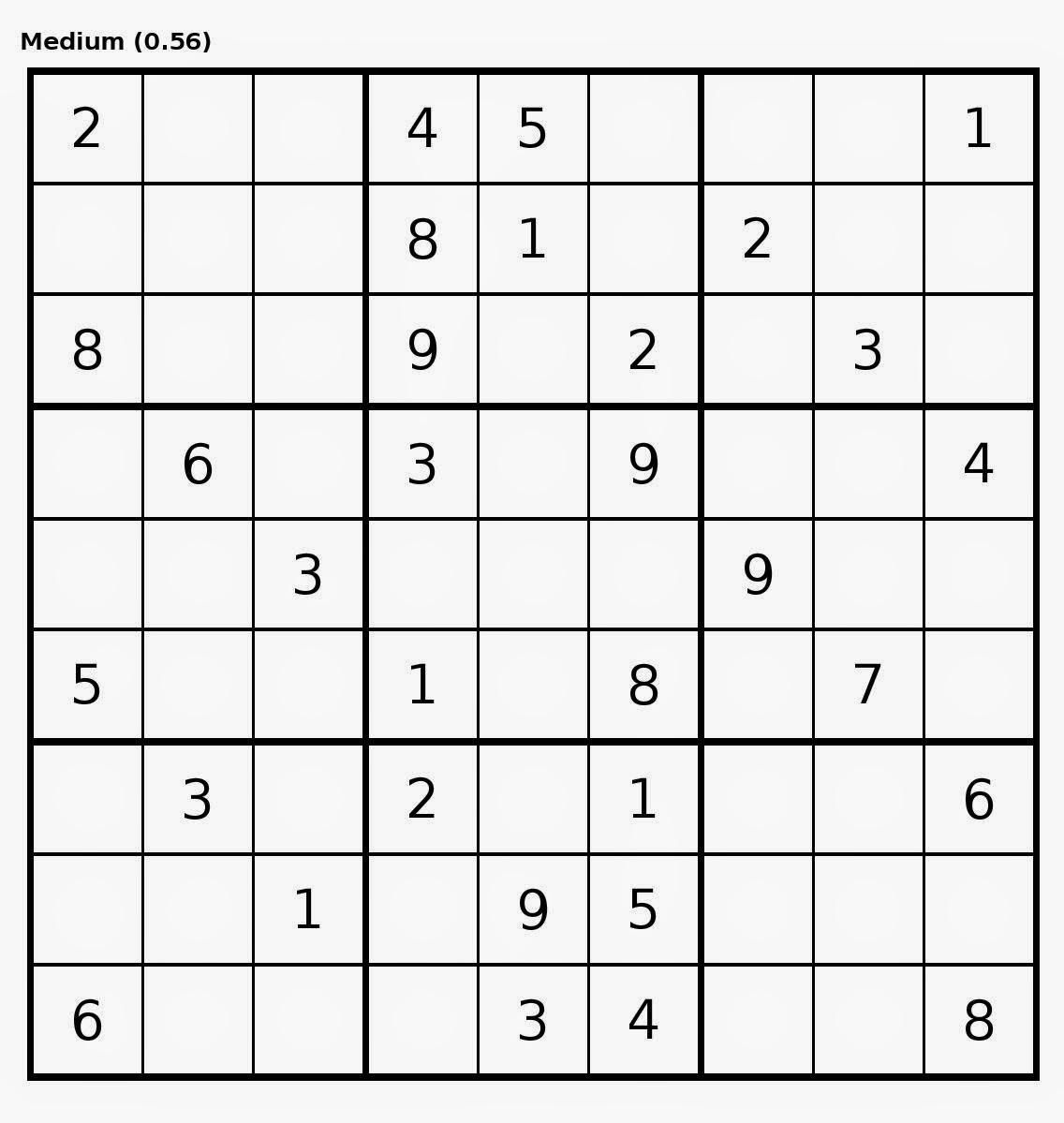 Sudoku Medium Imprimir Sudoku