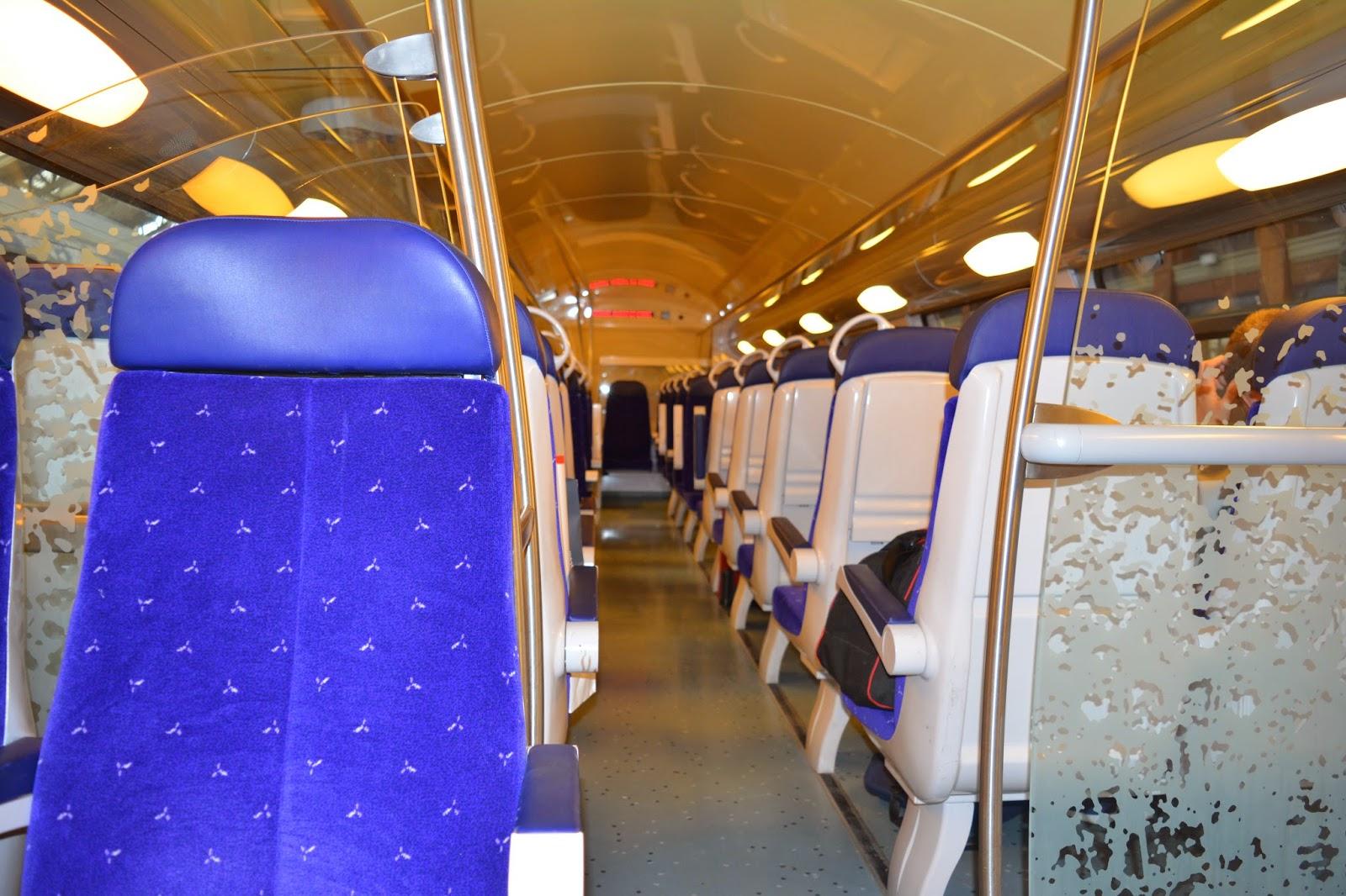 como viajar de trem na frança