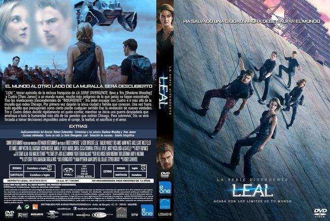 La Serie Divergente: Leal – Castellano, Inglés – DVD9