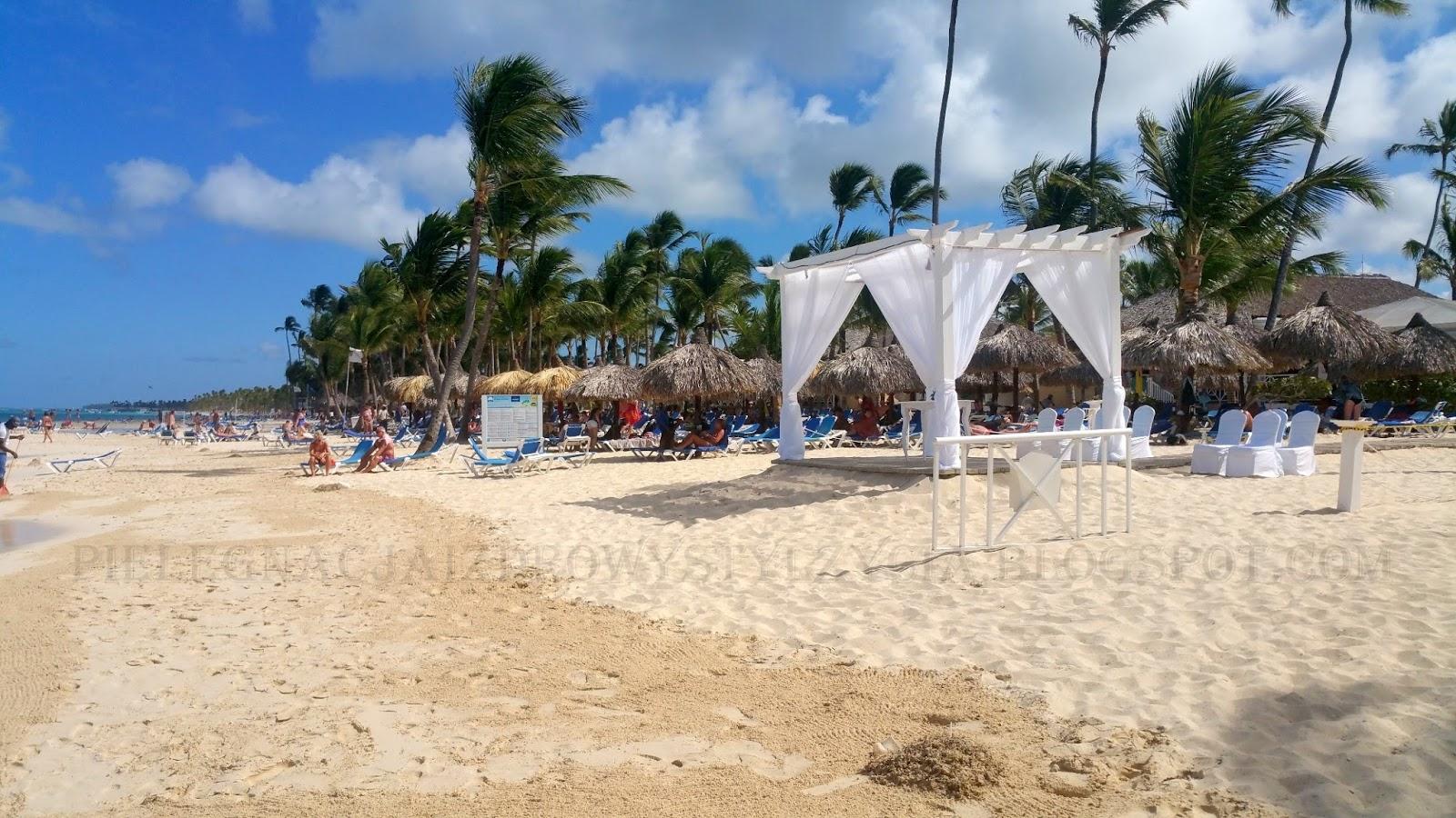 Rajskie plaże Dominikana - palmy, biały piasek, turkusowa woda