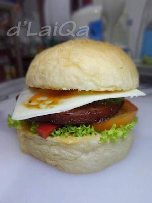 Chibi Burger ala Rika (1)