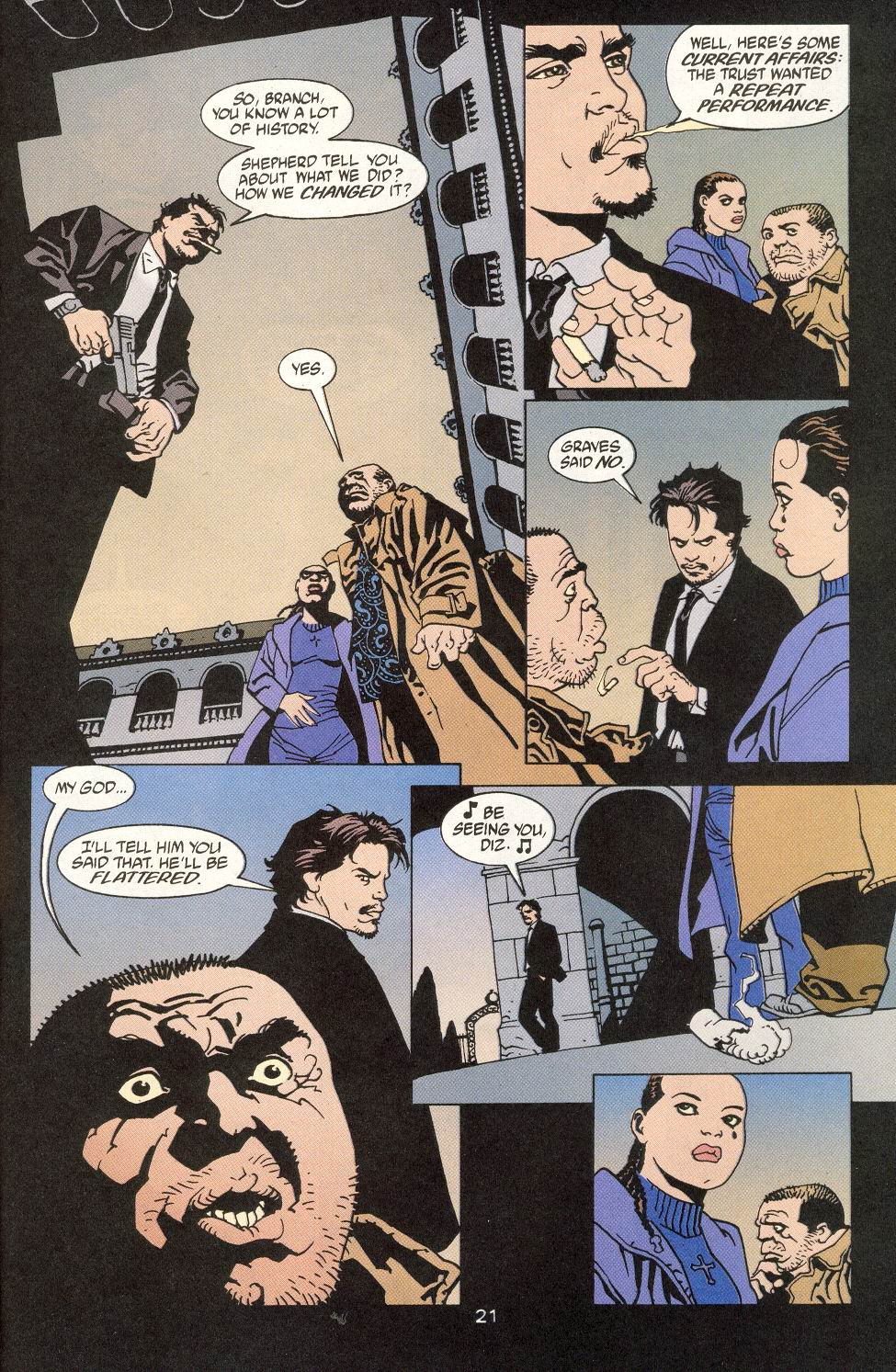 Read online 100 Bullets comic -  Issue #14 - 23