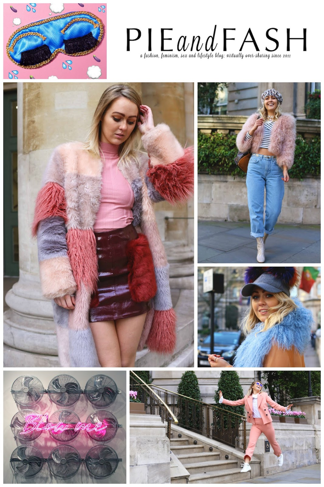 Blog Crushes, favourite bloggers, best bloggers, Pie and Fash, faux fur
