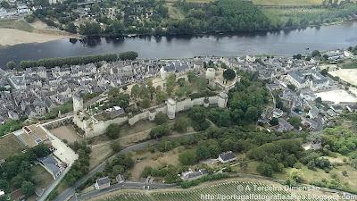 Castelos do Vale do Loire - Château de Chinon