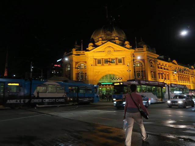 Flinders Street Railway station, Melbourne , Australia