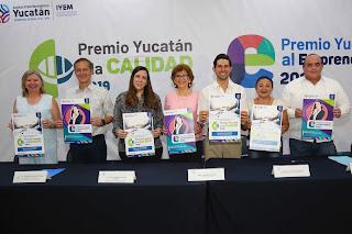 378f5a6c01 El Premio Yucatán a la Calidad es un instrumento para promover