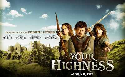 Your Highness 2011 Hindi English Dual Audio Movie Download 300mb
