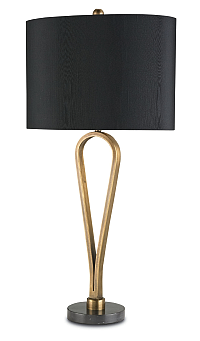 black shaded brass modern lamps