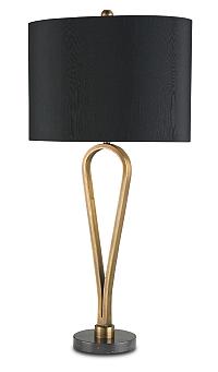 black shaded brass modern lamps