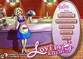 تحميل لعبة متجر بيع الطعام المطبخ الجميل Lovely Kitchen مجانا