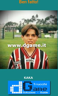 Soluzioni Guess the child footballer livello 15