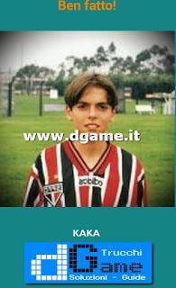 Soluzioni Guess the child footballer livello 15