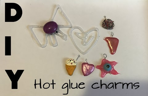 DIY Hot Glue Charms