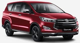Harga Toyota Venturer Red Mica Metallic di Pontianak