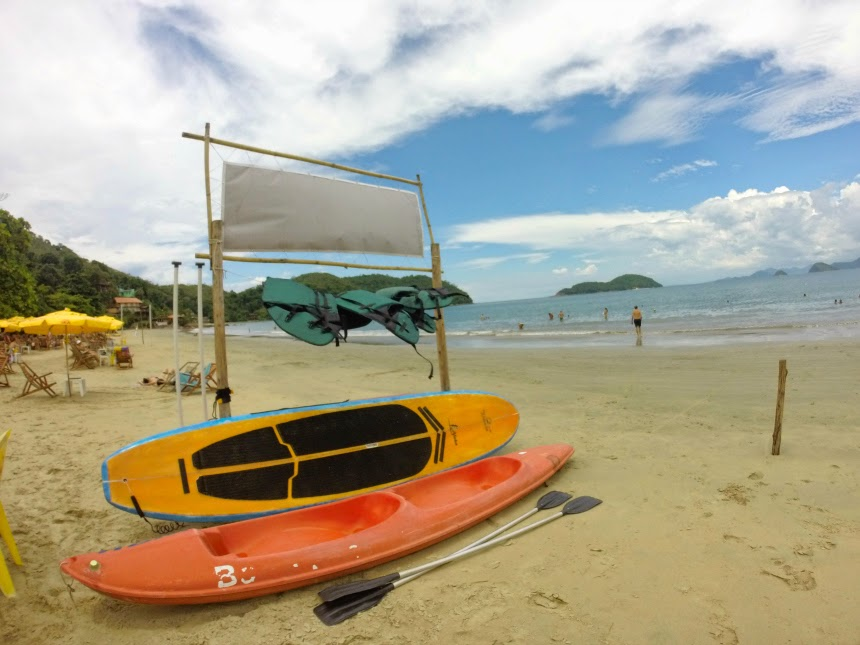 Aluguel de Caiaque e Standup Paddle na Praia da Almada