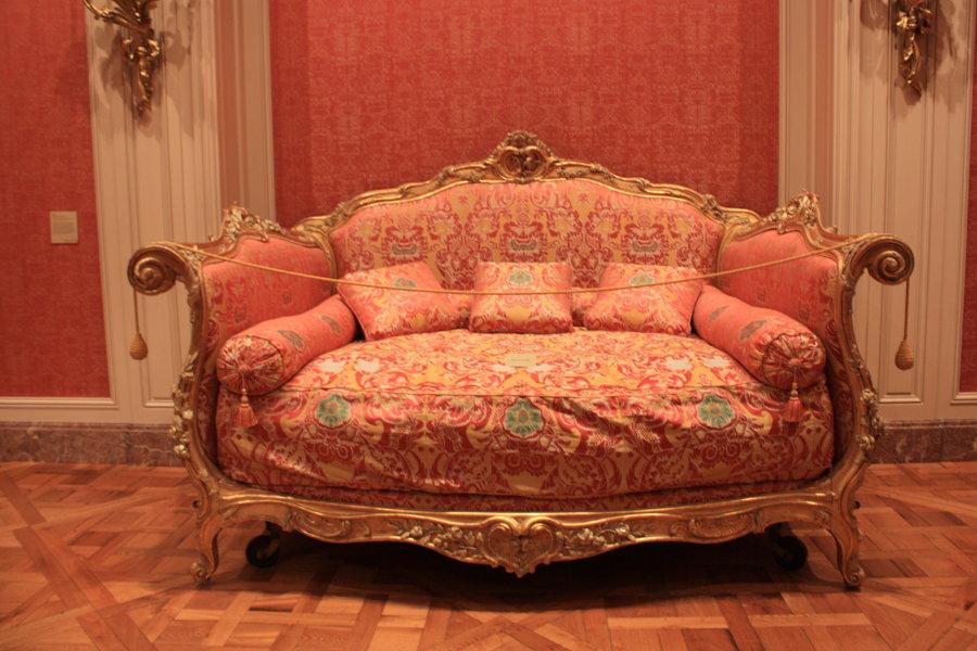 Antique & Italian Classic Furniture: Rococo Style Sofa ...