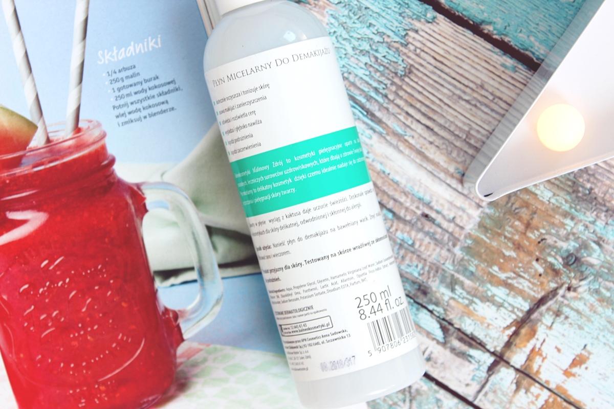 balneokosmetyki malinowy zdrój płyn micelarny do skóry normalnej i wrażliwej 5