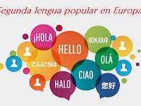 Segunda lengua popular en Europa - Popular Second Languages in Europe