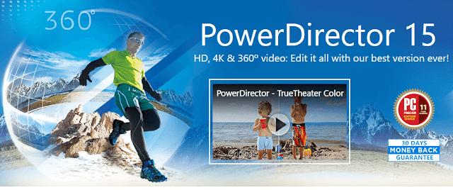 Cyberlink PowerDirector 15 Discount Coupon Promo Code