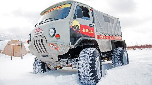 "UAZ 3303 ""Tadpole"""