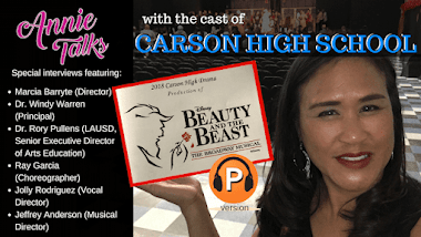 Annie Talks w/ Carson High School Drama Department
